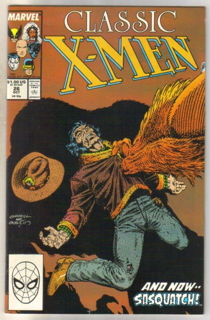 Classic X-Men #26 comic book mint 9.8