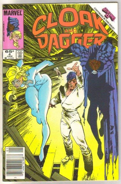 Cloak & Dagger #4 comic book near mint 9.4