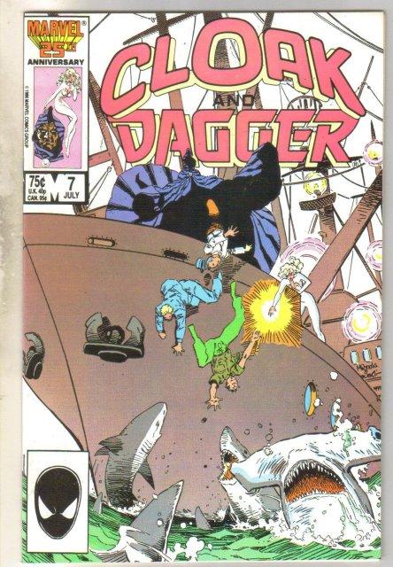 Cloak & Dagger #7 comic book near mint 9.4
