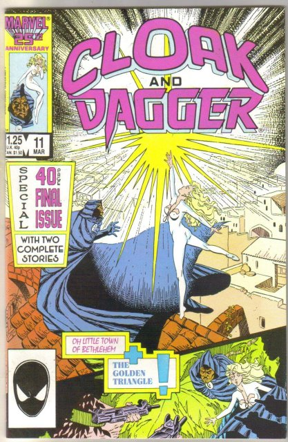 Cloak and Dagger #11 comic book mint 9.8