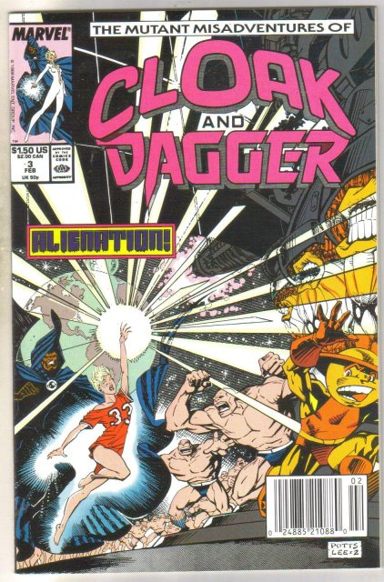 Cloak and Dagger #3 comic book near mint 9.4