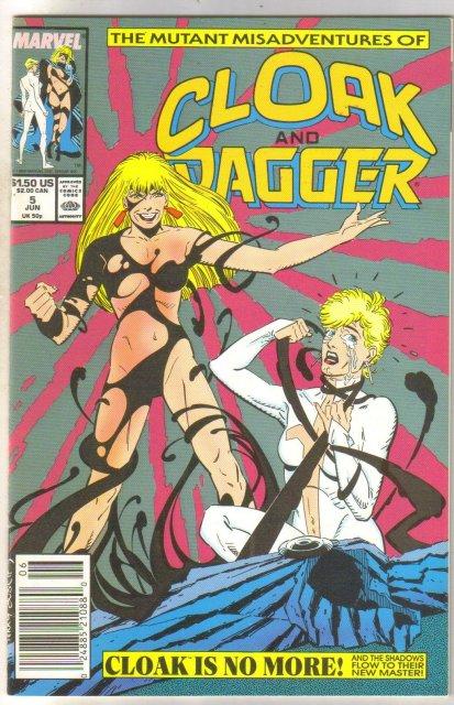 Cloak and Dagger #5 comic book near mint 9.4