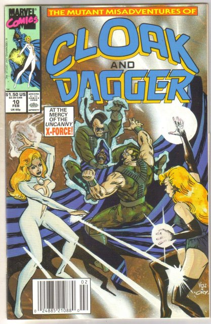 Cloak and Dagger #10 comic book near mint 9.4