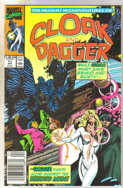 Cloak and Dagger #11 comic book near mint 9.4