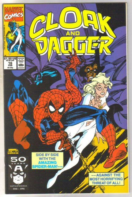 Cloak and Dagger #16 comic book near mint 9.4