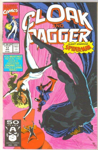 Cloak and Dagger #17 comic book near mint 9.4