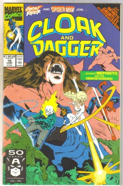 Cloak and Dagger #18 comic book near mint 9.4