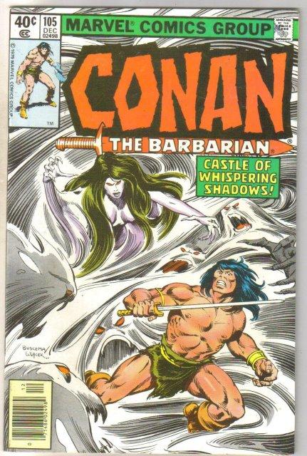 Conan the Barbarian #105 comic book near mint 9.4