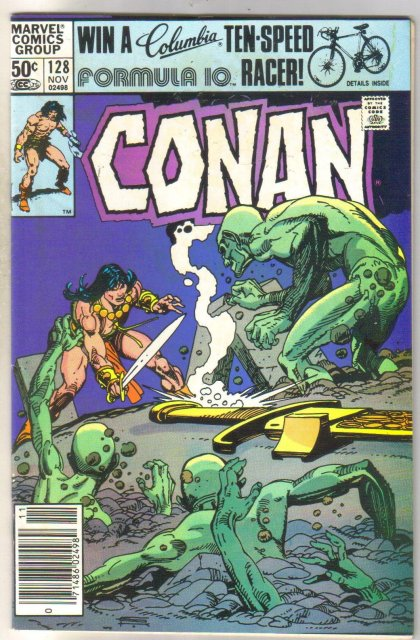 Conan the Barbarian #128 comic book near mint 9.4