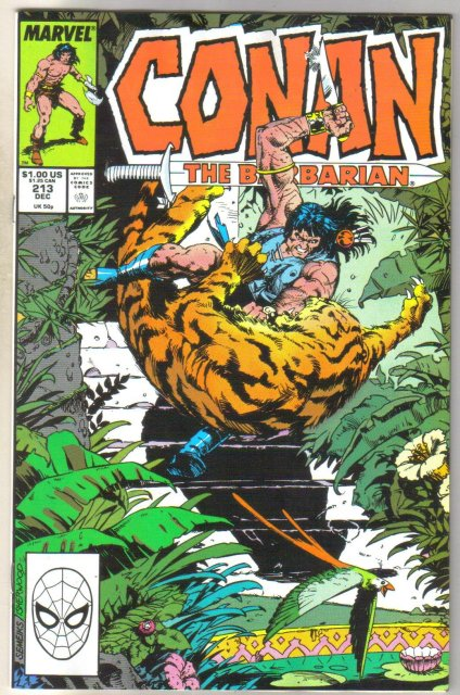 Conan the Barbarian #213 comic book near mint 9.4