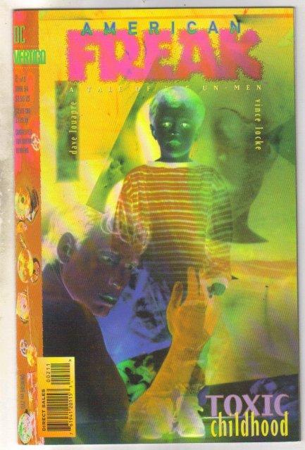 American Freak #2 comic book mint 9.8