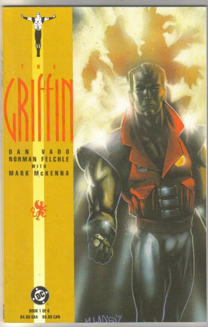 The Griffin #1 comic book mint 9.8