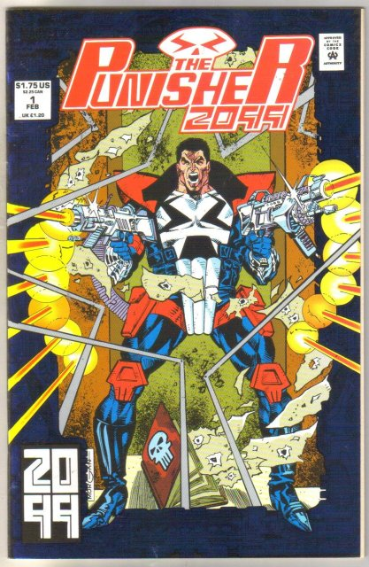 The Punisher 2099 #1 comic book mint 9.8