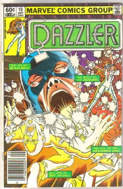 The Dazzler #19 comic book near mint 9.4