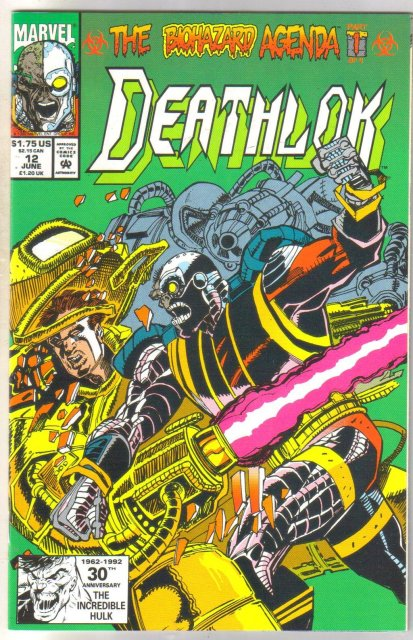 Deathlock #12 comic book near mint 9.4