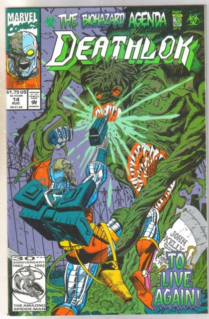 Deathlock #14 comic book near mint 9.4