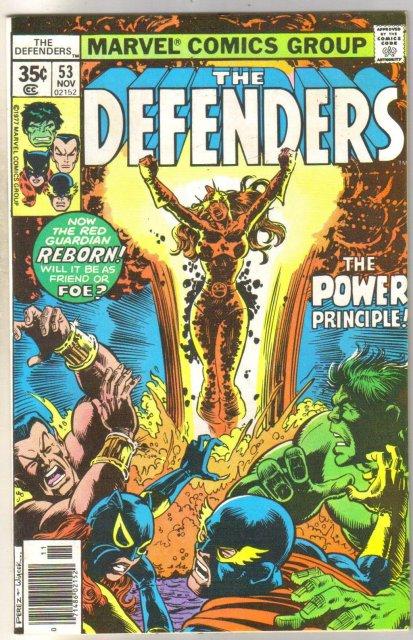Defenders #53 comic book very fine/near mint 9.0