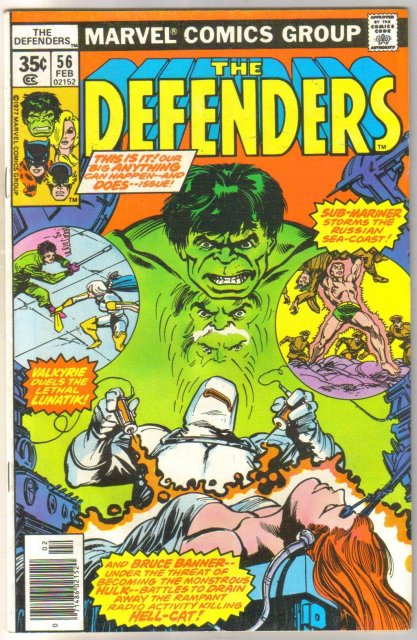 Defenders #56 comic book near mint 9.4