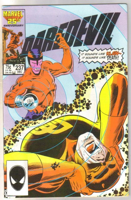 Daredevil #237 comic book near mint 9.4
