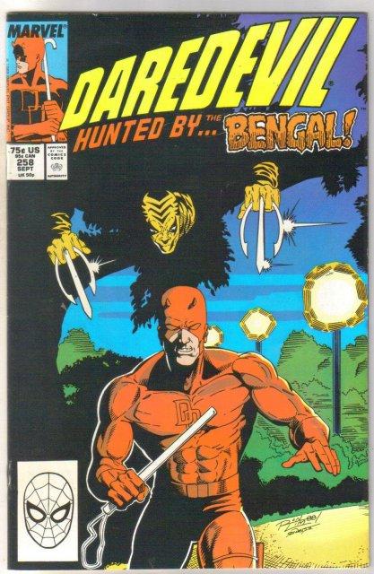 Daredevil #258 comic book near mint 9.4