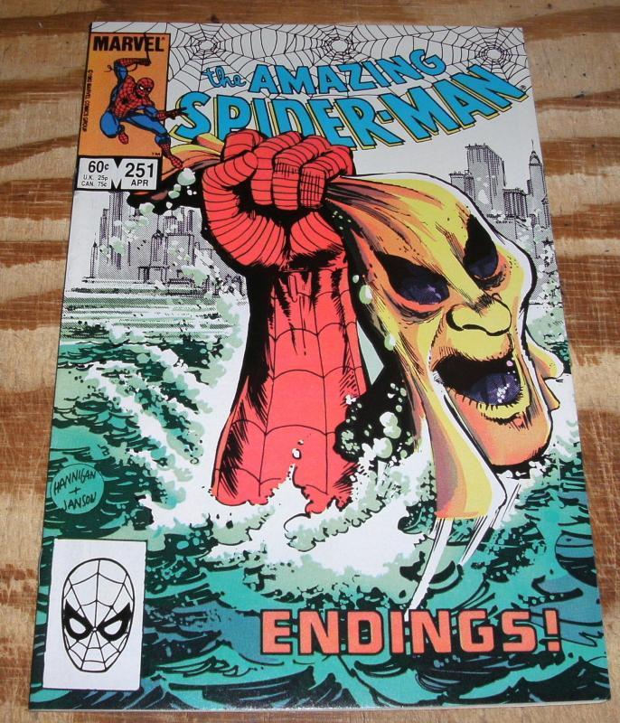 Amazing Spider-man #251 very fine/near mint 9.0