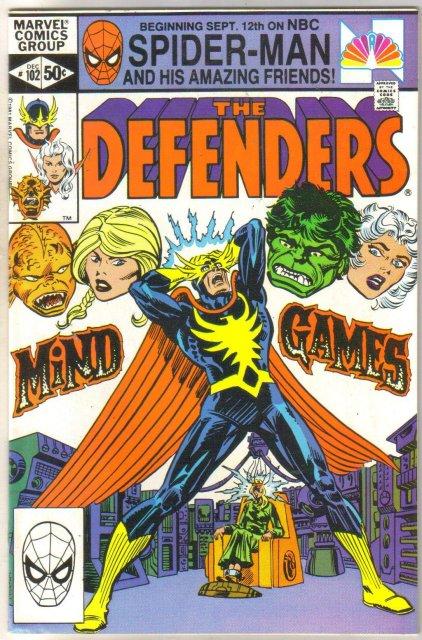 Defenders #102 comic book near mint 9.4