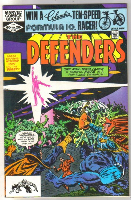 Defenders #104 comic book near mint 9.4