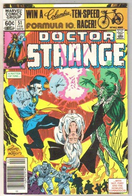 Doctor Strange #51 comic book near mint 9.4
