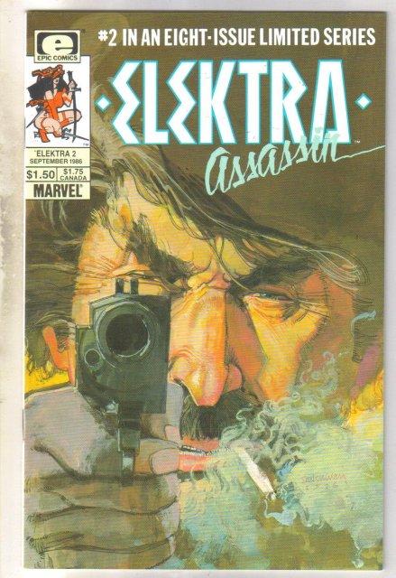 Elektra Assassin #2 comic book near mint 9.4