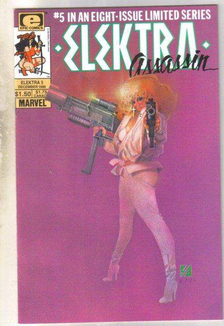 Elektra Assassin #5 comic book near mint 9.4