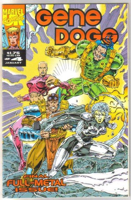 Gene Dogs #4 comic book near mint 9.4