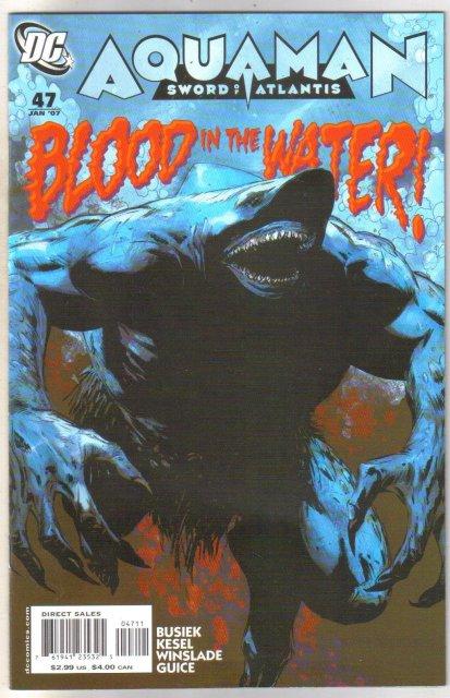 Aquaman #47 comic book near mint 9.4