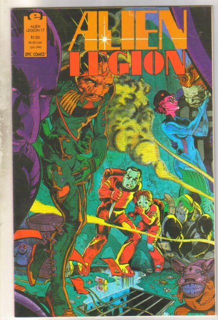 Alien Legion volume 2 #17 comic book near mint 9.4