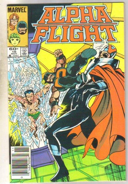 Alpha Flight #16 comic book mint 9.8