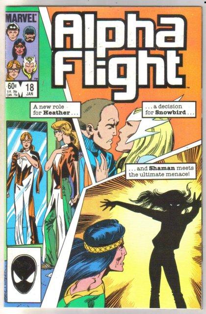 Alpha Flight #18 comic book mint 9.8