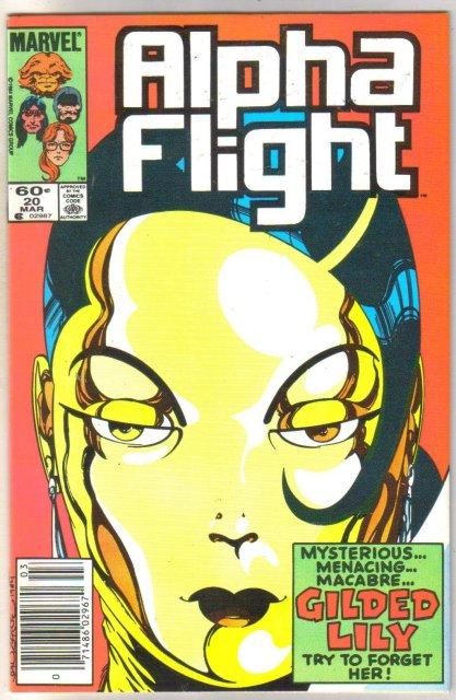 Alpha Flight #20 comic book mint 9.8