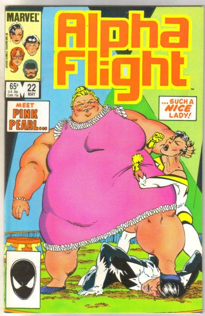 Alpha Flight #22 comic book mint 9.8