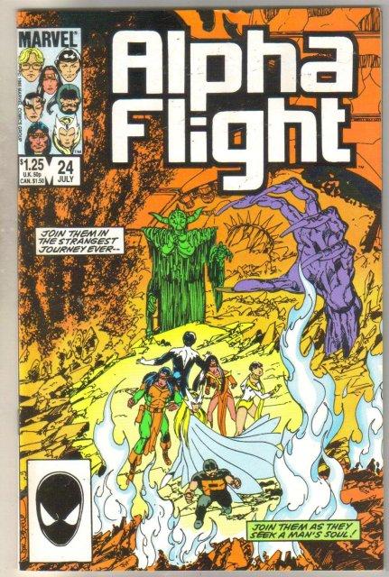 Alpha Flight #24 comic book mint 9.8