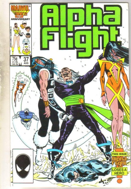 Alpha Flight #37 comic book mint 9.8
