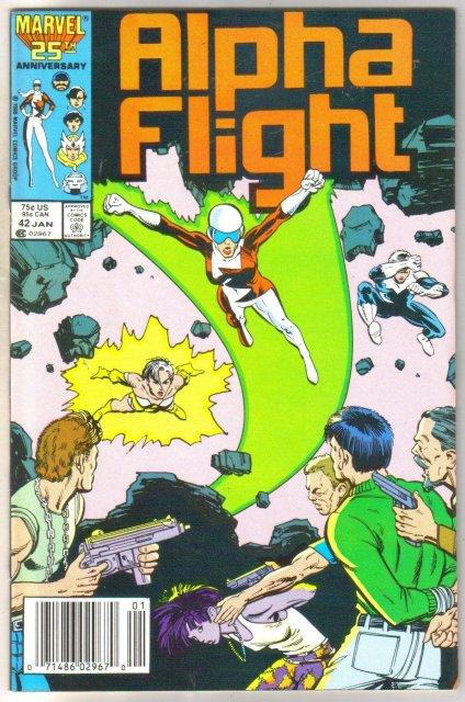 Alpha Flight #42 comic book mint 9.8