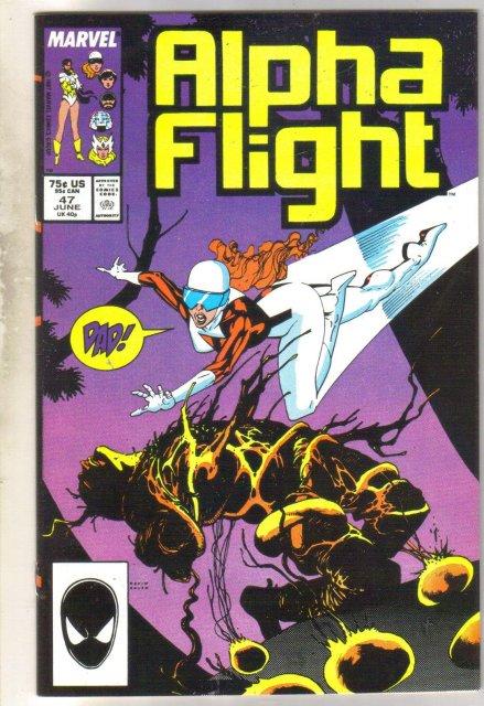 Alpha Flight #47 comic book mint 9.8