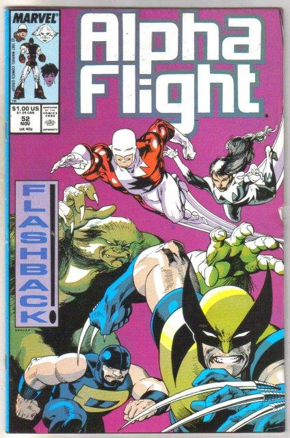 Alpha Flight #52 comic book mint 9.8