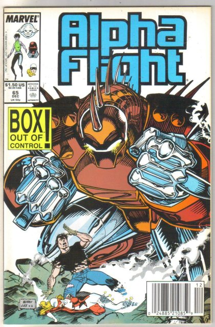 Alpha Flight #65 comic book mint 9.8