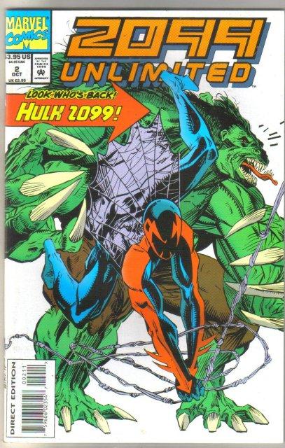 2099 Unlimited #2 comic book mint 9.8