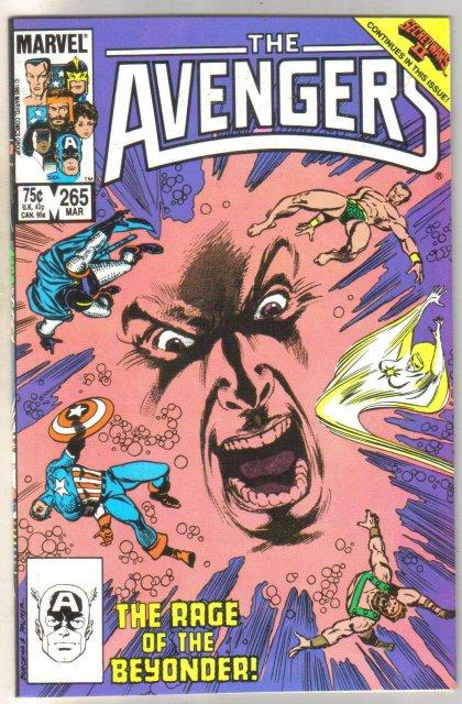 The Avengers #265 comic book mint 9.8