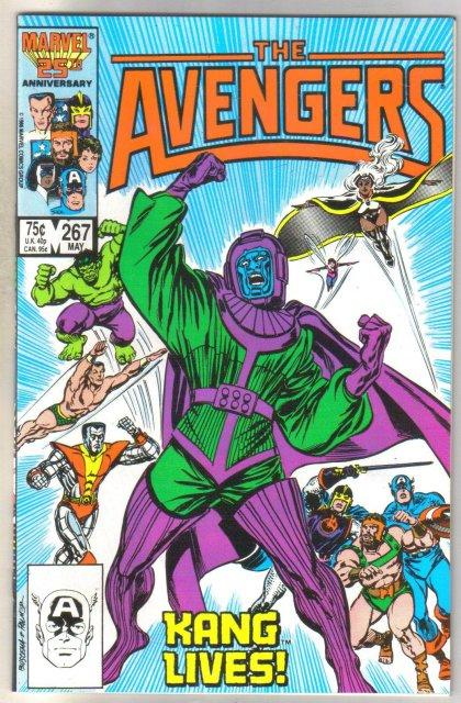 The Avengers #267 comic book mint 9.8
