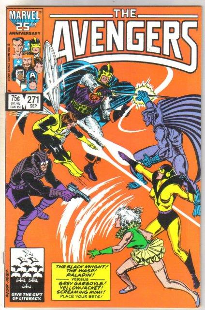 The Avengers #271 comic book near mint 9.4