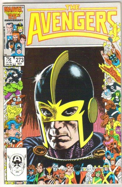 The Avengers #273 comic book near mint 9.4