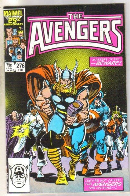 The Avengers #276 comic book near mint 9.4