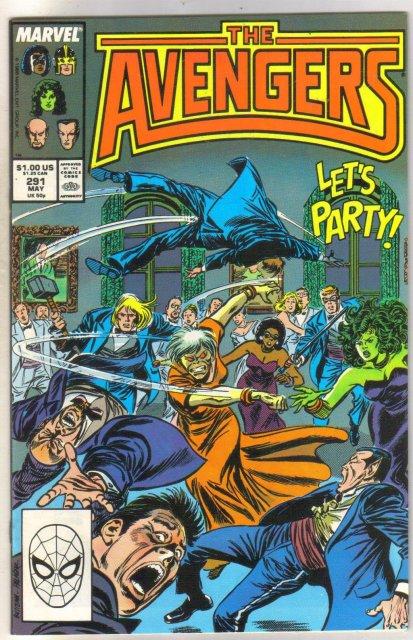 The Avengers #291 comic book near mint 9.4